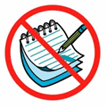 no write icon