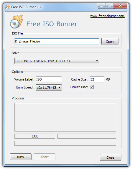10 Free Tools To Burn Iso Images Onto Cd Or Dvd Raymond Cc