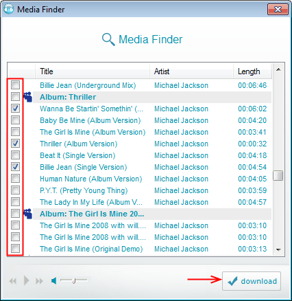 musicjacker list myspace mp3