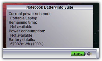 Notebook BatteryInfo