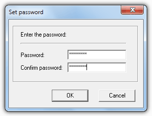 Password Protect Backup File