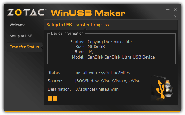 winusb maker copy files