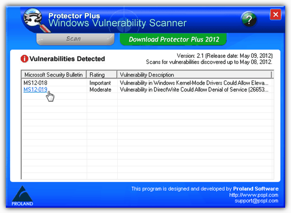 Protect Windows from Vulnerability