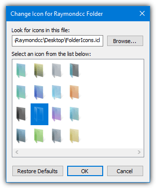 6 Ways To Change the Windows Folder Icon To Another Icon