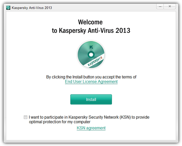 kaspersky anti-virus 2013 setup