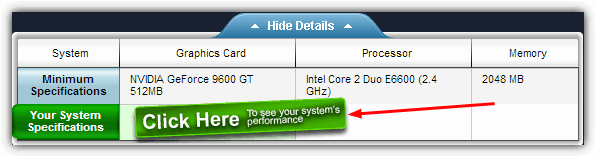 click here to see your system's performance