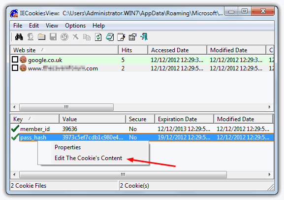 How to Edit Cookie Expiration Dates in your Web Browser