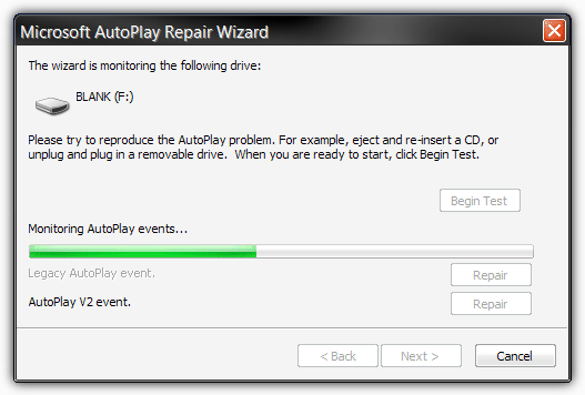 microsoft autoplay repair wizard