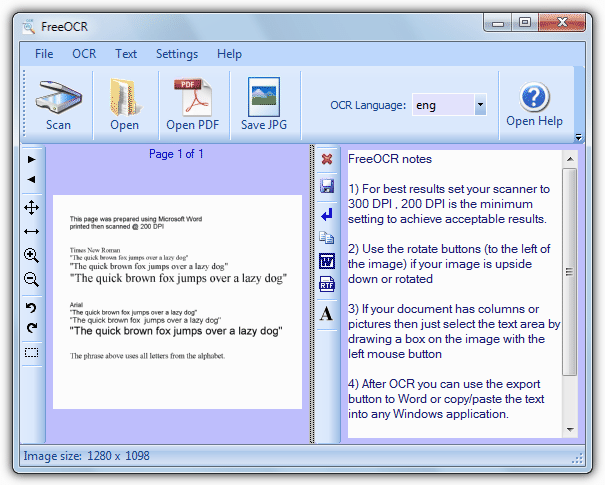 free ocr image to text converter