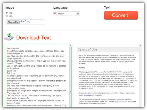 Scan and Convert Images to Text with OCR, Optical Character