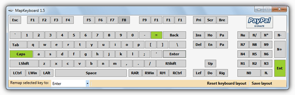 mapkeyboard italiano download