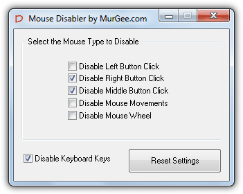 Mouse Disabler
