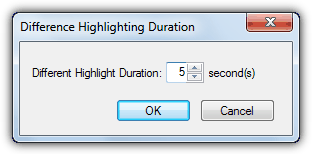 Different Highlight Duration