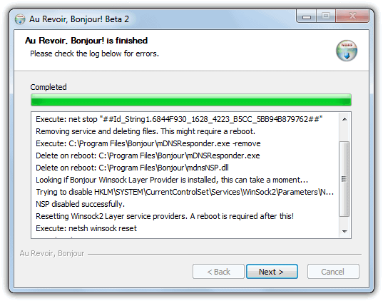 How To Uninstall or Remove Bonjour mDNSResponder exe • Raymond CC