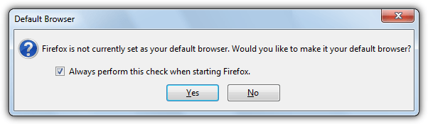 reset to default browser