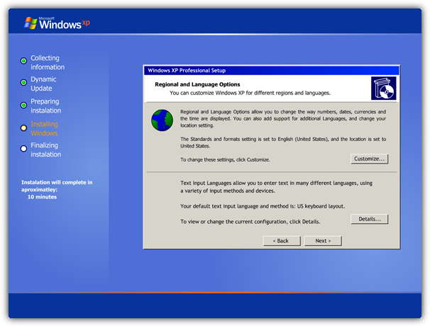 Run a Simulation on How To Setup or Install Windows XP