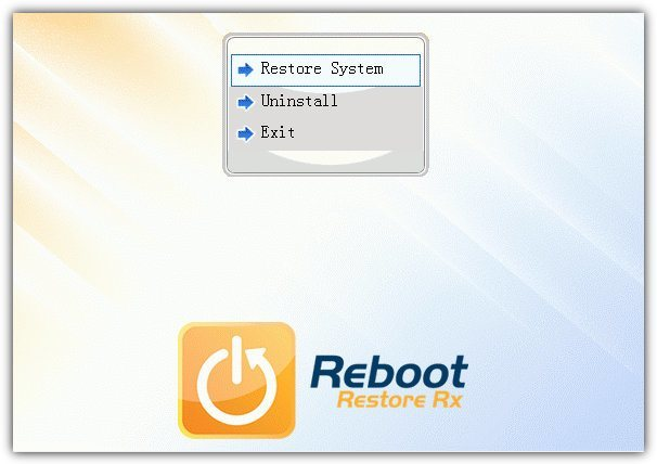 reboot restore boot menu
