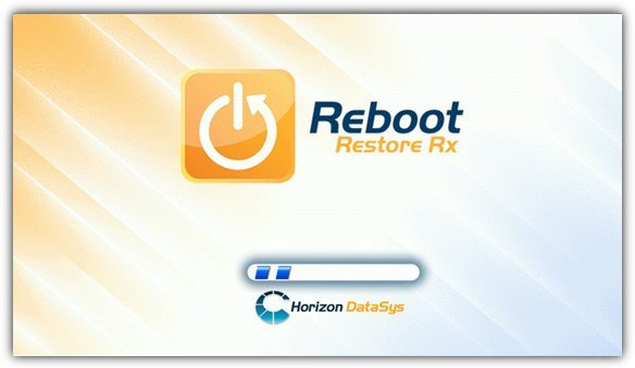 reboot restore rx boot screen