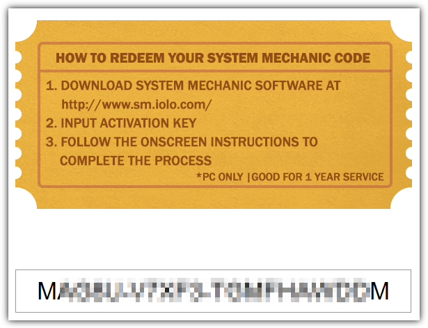 system mechanic license key