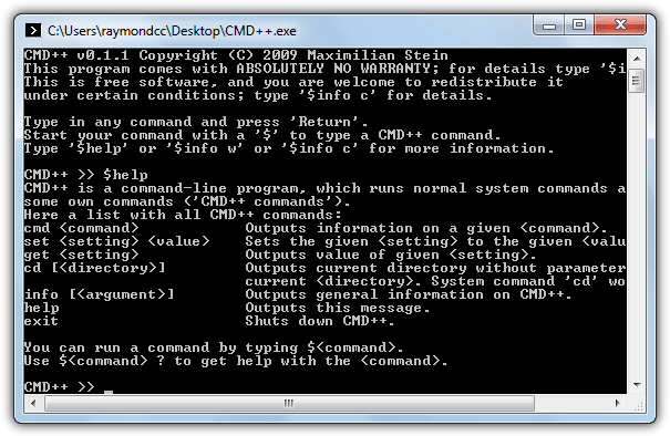 cmd++ replacement command prompt