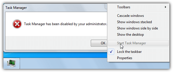 disabled task manager