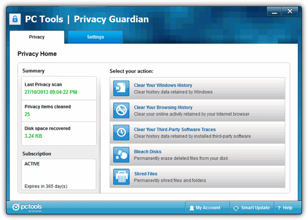 get privacy guardian for free