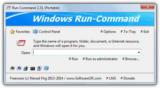 run-command run dialog replacement