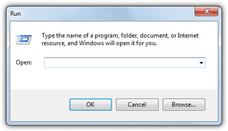 run dialog replacement