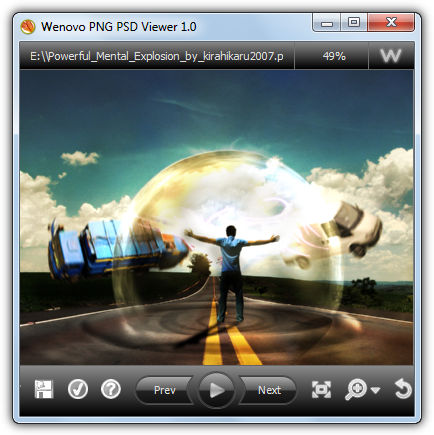 PNG PSD Viewer