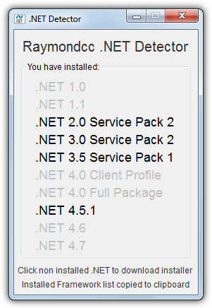 5 Ways to Check What Version of Microsoft .NET Framework is ...
