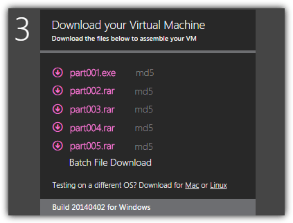 download Virtual Machine
