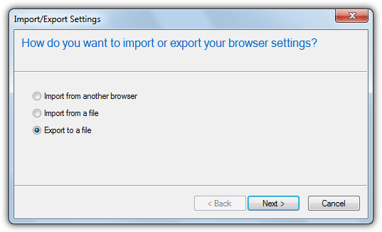 ie export bookmarks as html