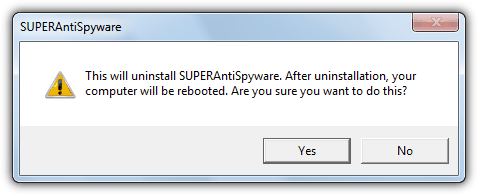 superantispyware uninstaller assistant