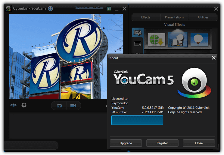 cyberlink youcam version 5