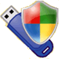 usb disk security icon