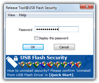 usb flash security decrypt