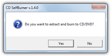 extract and burn iso