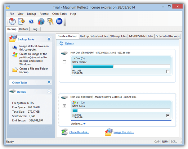 Comparing 20 Drive Imaging Software Backup/Restore Speed and