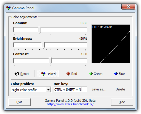 10 Tools to Adjust Laptop and Monitor Brightness, Gamma or