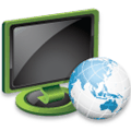 monitor network icon