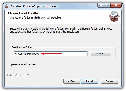 How to Install Portable Java Runtime Environment onto USB Flash