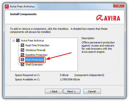 antivir toolbar