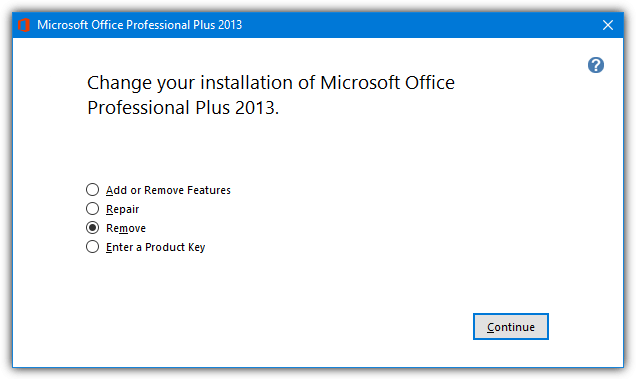 office disk uninstaller