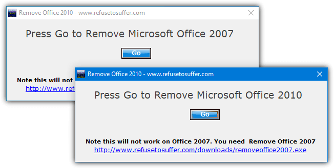 refusetosuffer remove office