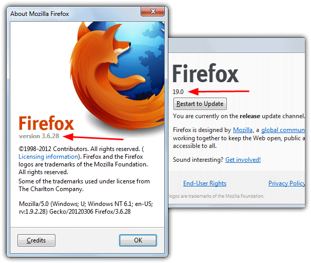 Firefox install and portable