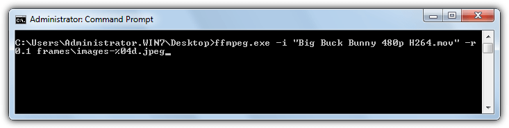 ffmpeg extract images