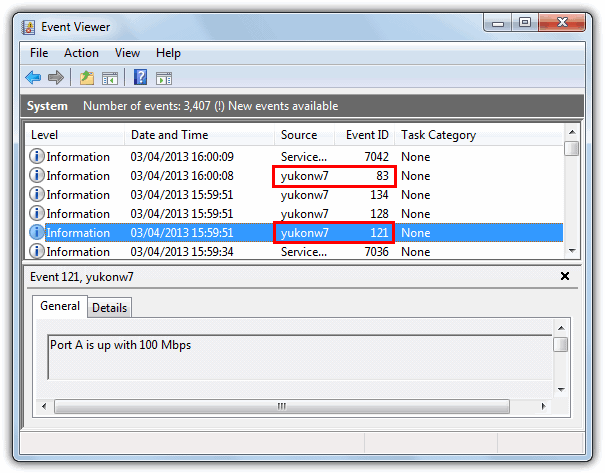 Event Viewer Source