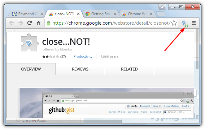 Warn when Closing Multiple Open Tabs in Chrome, Firefox