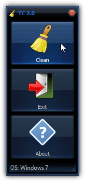 tray cleaner 2 user interface