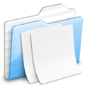 text 2 folders icon